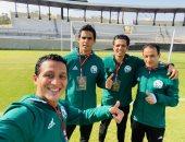 الغندور ورفاقه ينجحون في إدارة مباراة الاتحاد الليبى وبطل زنزبار بدورى أبطال أفريقيا