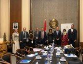 وفد من خارجية الجابون يزور الوكالة المصرية للشراكة من أجل التنمية