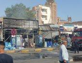 السيطرة على حريق فى 3 محال تجارية بالغردقة دون إصابات بشرية