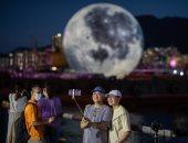 """الصين بلد العجائب.. قمر قابل للنفخ أحدث تقاليع احتفال مهرجان منتصف الخريف """"ألبوم صور"""""""