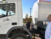 محافظ أسوان: سيارة فنطاس للمساهمة فى توفير مياه الشرب لأهالى قرى العلاقى