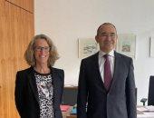 السفير المصرى فى برلين يبحث سُبل التصنيع المُشترك للقاحات كورونا