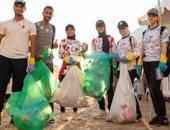 حملة موسعة بالإسكندرية احتفالا باليوم العالمى لتنظيف الشواطئ.. صور