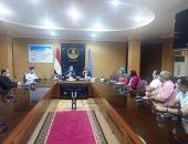 محافظ كفر الشيخ يبحث سبل التعاون مع مدير الأمن وتنفيذ الموجه 18 للحفاظ على أملاك الدولة