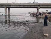 """فريق الغطاسين يواصلون البحث عن جثمان """"نصرة"""" الغاؤقة بنهر النيل فى سوهاج.. لايف"""