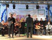 افتتاح برنامج حفل وزارة الثقافة بالمراشدة في قنا ضمن مبادرة حياة كريمة