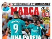 ريمونتادا ريال مدريد ضد فالنسيا ووفاة أسطورة إنجلترا أبرز عناوين صحف أوروبا