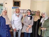"""""""تضامن الغربية"""" تتابع سفر نزيل بمؤسسة مسنين لدولة لبنان للم شمل الأسرة"""