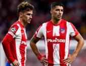 أتلتيكو مدريد ضد برشلونة.. جواو فيليكس يعود لتشكيل سيميونى وجريزمان بديلا