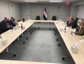 وزير الخارجية يؤكد أهمية الدفع قدما نحو تشجيع زيادة الاستثمارات الأوروبية فى مصر