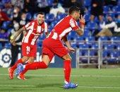 ملخص وأهداف مباراة خيتافى ضد أتلتيكو مدريد 1 - 2 فى الدورى الإسبانى