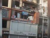 ماس كهربائى بسبب زيادة الأحمال وراء حريق شقة سكنية فى مصر الجديدة