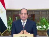 الرئيس السيسى: مصر تشير لضرورة الاستجابة السريعة لاحتياجات القارة الإفريقية