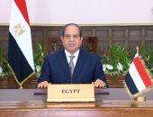 الرئيس السيسى: الإرهاب يعيق جهود الحكومات لبلوغ الأهداف الاقتصادية والاجتماعية