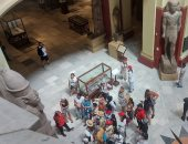 شاهد إقبال السائحين على زيارة المتحف المصرى بالتحرير