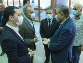 محافظ كفر الشيخ يتابع نقل حالتين من مصابى فريق دسوق لكرة السرعة للمستشفى