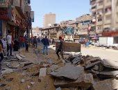 رفع 980 حالة إشغال للمحال والمقاهى بحدائق الأهرام ومنشأة البكارى بالجيزة
