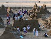 """عالم بلا حدود.. فعاليات مهرجان النحت على الرمال فى تايوان """"ألبوم صور"""""""