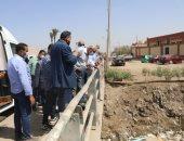 محافظة الجيزة ترصف طريق المنصورية بطول 4 كيلو مترات