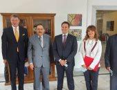 الأمين العام المساعد لجامعة الدول العربية يلتقى نائب وزير خارجية بيلاروسيا