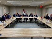 اجتماع مصرى أردنى عراقى بنيويورك فى إطار آلية التعاون الثلاثى