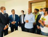 وزير المجالس النيابية يتفقد مقر الوزارة بالعاصمة الإدارية: الحلم شارف على التحقيق