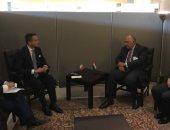 وزير الخارجية يبحث مع نظيره الإيطالى العلاقات الثنائية والقضايا الإقليمية