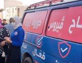 إقبال المواطنين على مراكز تطعيمات لقاح فيروس كورونا بالغربية.. صور
