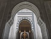 10 صور من التقاسيم المعمارية بجودة عالية فى التوسعة الثالثة بالمسجد الحرام