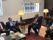 وزير الخارجية يبحث مع نظيره السورى سبل إنهاء الأزمة فى سوريا