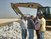 رفع 125 حالة إشغال طريق بشوارع مدينة بنى سويف وإزالة التعديات على الأراضى الزراعية