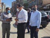 محافظ الشرقية يأمر بتطوير ميدان الشهيد أحمد المنسي ويتابع تبطين ترعة النظامية