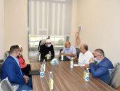 وزير الأوقاف يعقد أول اجتماع بمبنى الوزارة فى العاصمة الإدارية.. صور