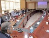 أعضاء مجلس الشيوخ عن تنسيقية شباب الأحزاب يزورون جامعة الجلالة