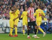 محمد صلاح يحتفل بمئوية البريميرليج مع ليفربول فى مباراة مجنونة ضد برنتفورد