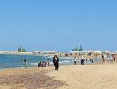 أجواء خريفية ساحرة على شواطئ الإسكندرية.. احذروا انخفاض الحرارة ليلا.. لايف وصور
