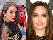 ممثلة عربية تشبه أنجلينا جولى ترفض المقارنة بينهما: لكل منا حياته الخاصة.. صور
