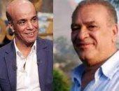 صلاح عبد الله وسليمان عيد ينتهيان من تصوير حلقة فى برنامج سهرانين