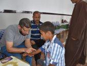 الكشف على 220 حالة فى قافلة طبية بقرية منشية سرور فى المنوفية.. صور