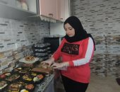 """حكاية """"ديانا"""" من السمنة للرشاقة وصاحبة مطبخ بيتى لتوفير وجبات الدايت بالشرقية"""