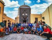 أولى رحلات فوج سياحى لموسم الشتاء لآثار فوه ورحلة نيلية بكفر الشيخ.. صور