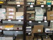مصادرة 120 ألف وحدة دوائية وتشميع صيدلية غير مرخصة بكفر صقر الشرقية