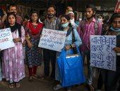 احتجاجات بسبب أشهر جريمة اغتصاب جماعى في الهند