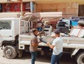 رفع 444 حالة إشغال طريق وتحرير 12 محضرا لعدم ارتداء الكمامة بالبحيرة