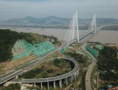 بلد العجائب.. الصين تحقق رقما قياسيا لأ طول جسر معلق فى العالم