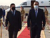 رئيس الوزراء يستقبل نائب الرئيس البرازيلى بمطار القاهرة .. صور