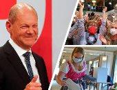 """حقبة ما بعد """"المرأة الحديدية"""".. الحزب الاشتراكي الديمقراطـي يتقدم في الانتخابات الألمانية بـ25.7% علـى حساب """"الديمقراطي المسيحي"""".. """"أولاف شولتز"""" يقترب من إنهاء 16 عاما من سياسة المستشارة أنجيلا ميركل"""