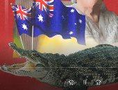 """رغم تجاوزها الـ60 عاما.. سيدة تنقذ شخصا من هجوم تمساح بأستراليا """"فيديو"""""""
