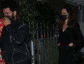 3 مواقف تشير لاحتمالية ارتباط أنجلينا جولى وذا ويكند بعد عشائهما الأخير