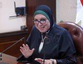 نيفين جامع: زيارة الرئيس السيسي لمعرض تراثنا دليل اهتمام بالمشروعات الصغيرة
